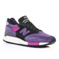New Balance 998 Black/Purple M998BLD US12